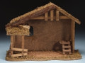"10.5"" Wooden Stable for 5"" Fontanini Figures - 54628"