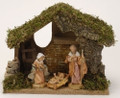 Fontanini Nativity Italian Stable Starter Set with Free DVD-54650