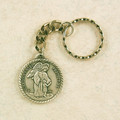 Guardian Angel Key Ring Pewter in Gift Box