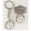 Guardian Angel Key Ring & Visor Clip Set