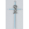 Blue Boy Cross 6""