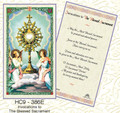 Invocation for The Blessed Sacrament