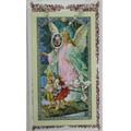 Crystal Rosary and Holy Card Set