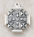 Creed- Sterling Silver Jerusalem Cross ss1524