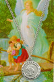 Guardian Angel Medal and Holy Card