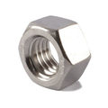 "7/16""-14 Finished Hex Nut Zinc"