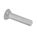 "#2-56 x 3/8"" (Ft) Machine Screw Flat Head Phillips Zinc"