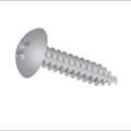 "#6-20 x 1/2"" Phillips Truss Head Type-Ab,Tapping (Sheet Metal) Screw Zinc"