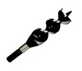 """1"""" x 6-1/2"""" Double Spur-Double Twist Wood Drill"""