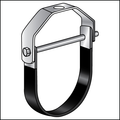 """10"""" ADJUSTABLE CLEVIS HANGER for DUCTILE IRON and PVC C-900 PIPE HOT DIP GALVANIZED"""