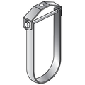 "1/2"" ADJUSTABLE CLEVIS HANGER WITH EXTENDED BOTTOM GALVANIZED"