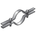 "18"" RISER CLAMP HOT DIP GALVANIZED"