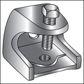"""1/4"""" ELECTRICAL ROD SUPPORT CLAMP GALVANIZED"""