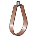 "2-1/2"" EPOXY COATED (COPPER-GARD) COPPER TUBING ""EMLOK"" ADJUSTABLE SWIVEL RING HANGER"