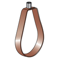 "4"" EPOXY COATED (COPPER-GARD) COPPER TUBING ""EMLOK"" ADJUSTABLE SWIVEL RING HANGER"