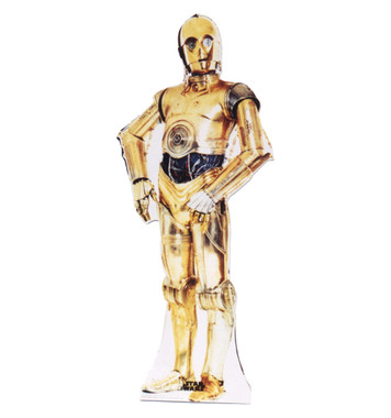 Star Wars C-3PO Life Size Stand Up
