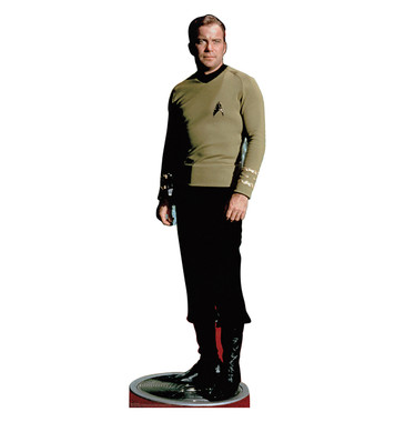 Star Trek Captain Kirk Life Size Stand Up