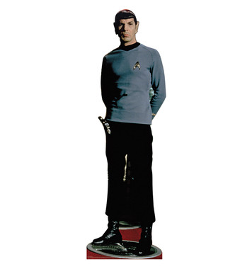 Star Trek Spock Life Size Stand Up