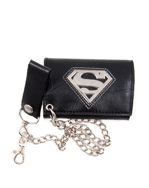 Superman Wallet with Chain