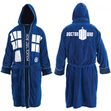 Doctor Who TARDIS Bathrobe Deluxe Edition