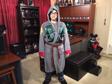 Star Wars Boba Fett Bathrobe Deluxe Edition