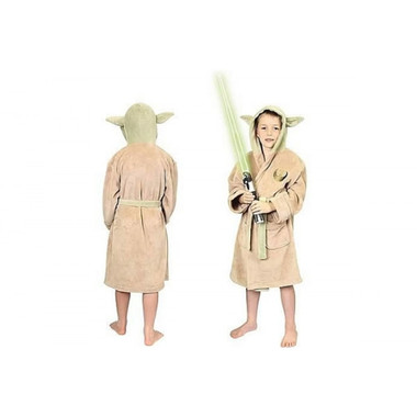Star Wars Yoda Child Size Bathrobe Deluxe Edition