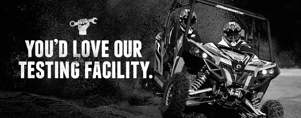 EPI performance ATV, UTV and Snowmobile testing.