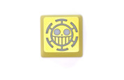 HfCx Pirates of Heart Jolly Roger Hand-Crafted Backlit Keycap