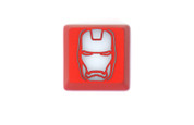 Three Beeline Iron Man Hand-Crafted Backlit Keycap