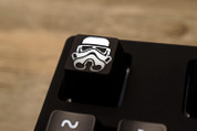 Three Beeline Stormtrooper Hand-Crafted Backlit Keycap