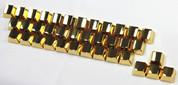 MKC Gold Blank Metal (Zinc) 37-Keyset