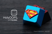 HolyOOPS Superman Aluminum Keycap