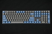 GeekKeys Navy/Grey Blank Thick PBT Full Keyset