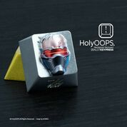 HolyOOPS Soldier 76 Backlit Aluminum Keycap