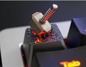 HolyOOPS 3D Hammer Backlit Aluminum Keycap