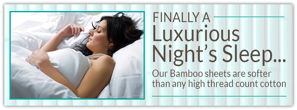 Click here to shop our Bamboo Sheets