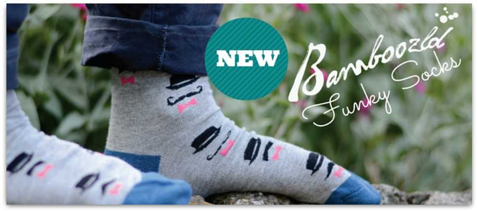 Bamboo Funky Socks by Pussyfoot Australia