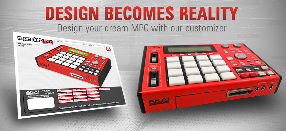 MPC Customizer - Create Custom Akai MPC