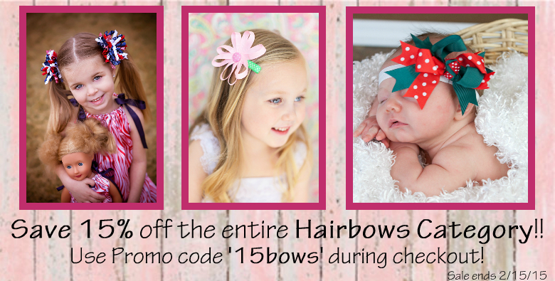 Hairbows Weekly Sale Alwaysunderpay