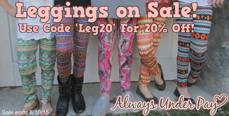 Legging Sale AUP