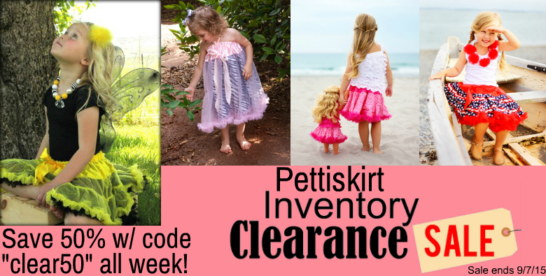 AUP Pettiskirt Clearance Sale