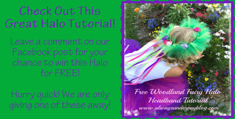 Woodland Fairy halo Headband Tutorial