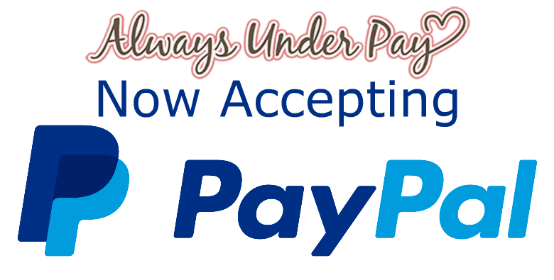 Alwaysunderpay.com Accepts PayPal