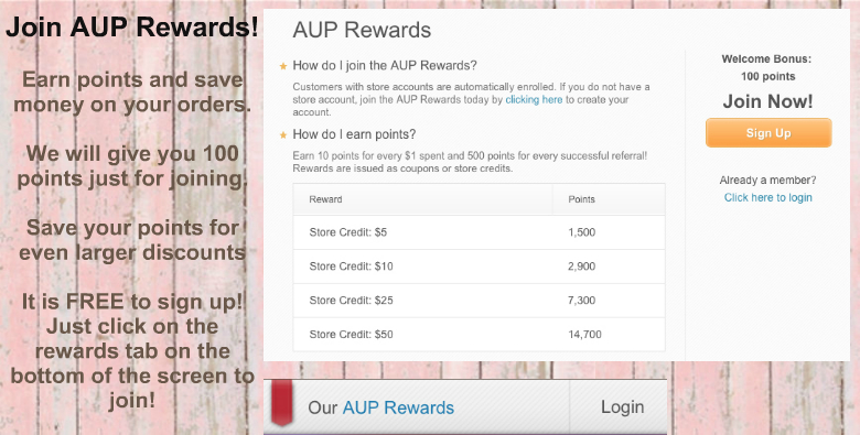 AUP Rewards