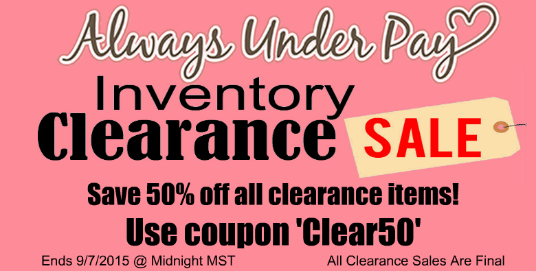 Labor Day Clearance Sale