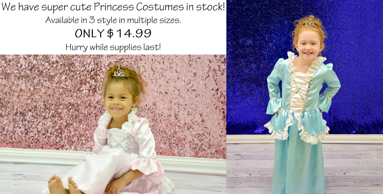 Halloween Princess Costumes