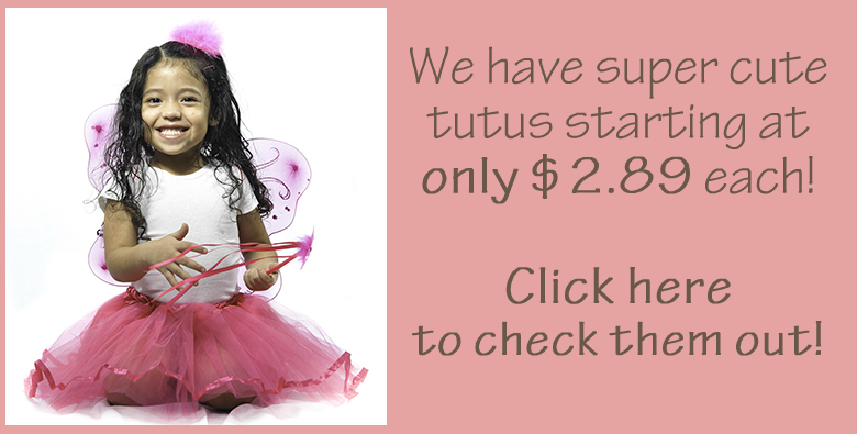 Pink Ribbon Lined Tutus