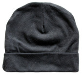 Black Cotton Beanies