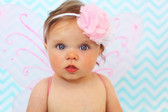 Light Pink Butterfly Wings on Baby