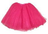 Dark Pink 5 Layer Ballet Tutu